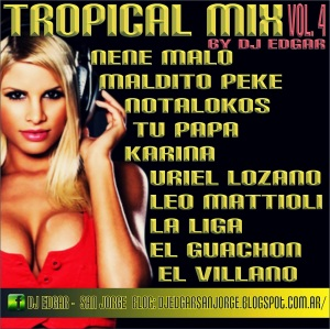 Dj Edgar - Tropical Mix Vol 4 (2013)